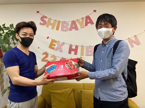 大阪本社Nintendo Switch当選者
